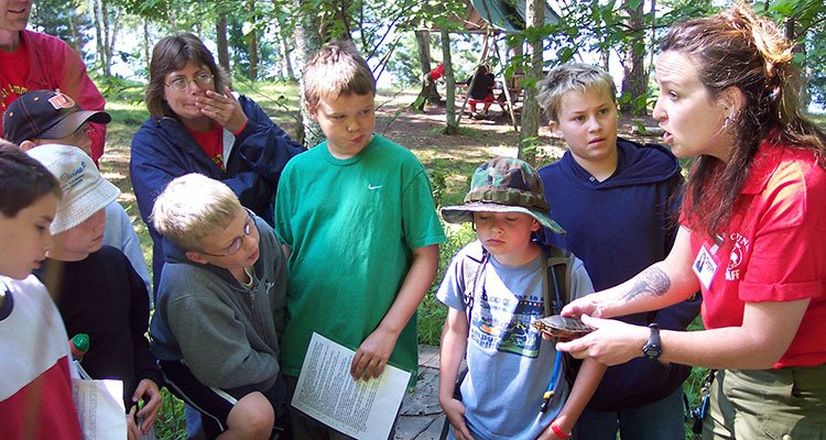 Camp Cuyuna North Woods Webelos