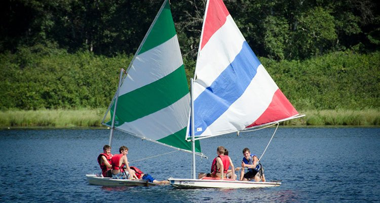 camp cuyuna sail boats