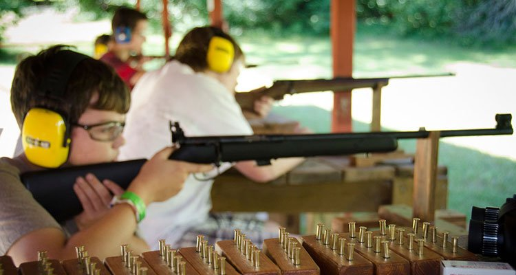 camp cuyuna shooting range
