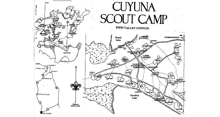 Cuyuna map Older Version