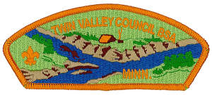 Twin Valley Council Shoulder Patch